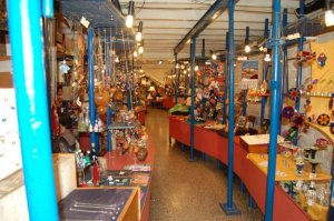 Punta del Este em junho: Feira de artesanato na Plaza Artigas