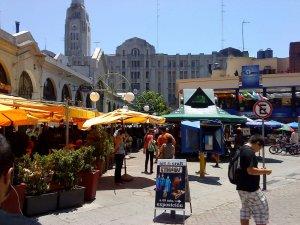 Montevidéu em fevereiro: Mercado del Puerto
