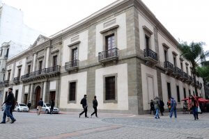 Montevidéu em maio: Cabildo de Montevidéu