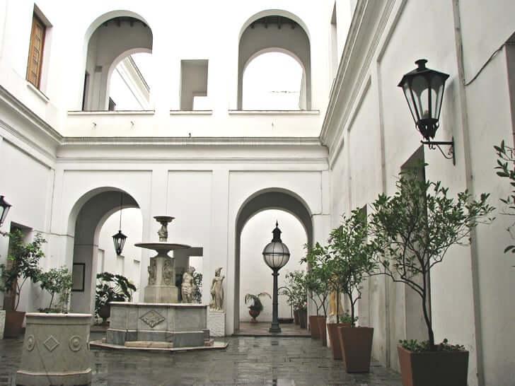 Cabildo de Montevidéu: pátio