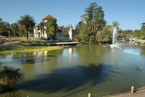 Montevidéu em janeiro: Parque Rodó