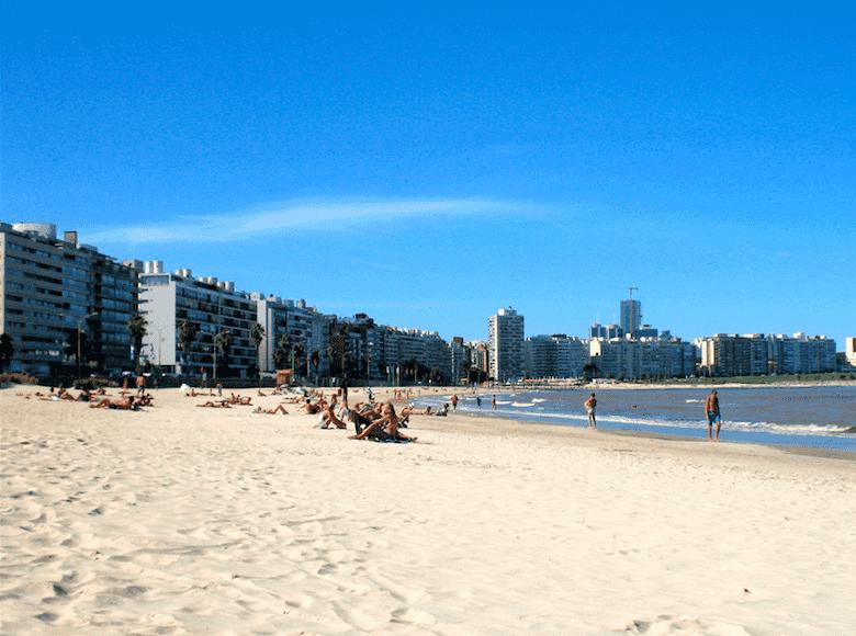 Praias em Montevidéu