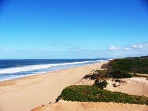 Punta del Este em fevereiro: praia