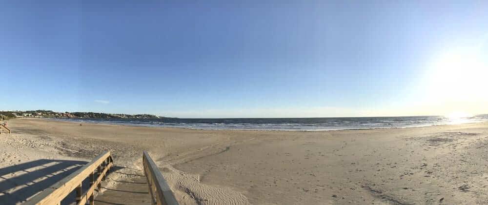 Praias no Uruguai