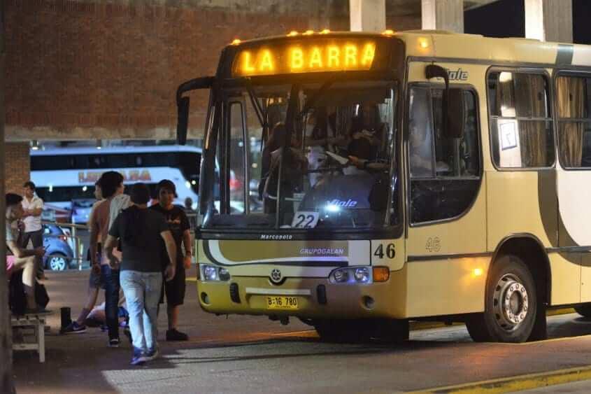 Como ir de Montevidéu a Punta del Este: ônibus
