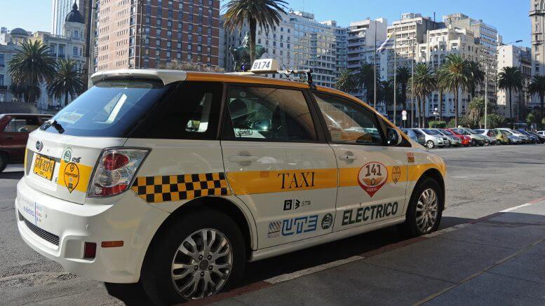 Como ir de Montevidéu a Punta del Este: táxi