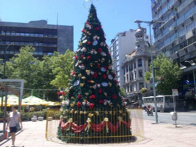 Natal em Montevidéu