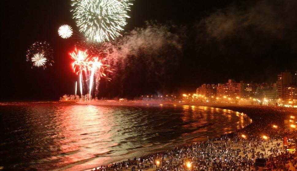 O que fazer no Ano-Novo em Montevidéu em 2018: show de fogos de artifício