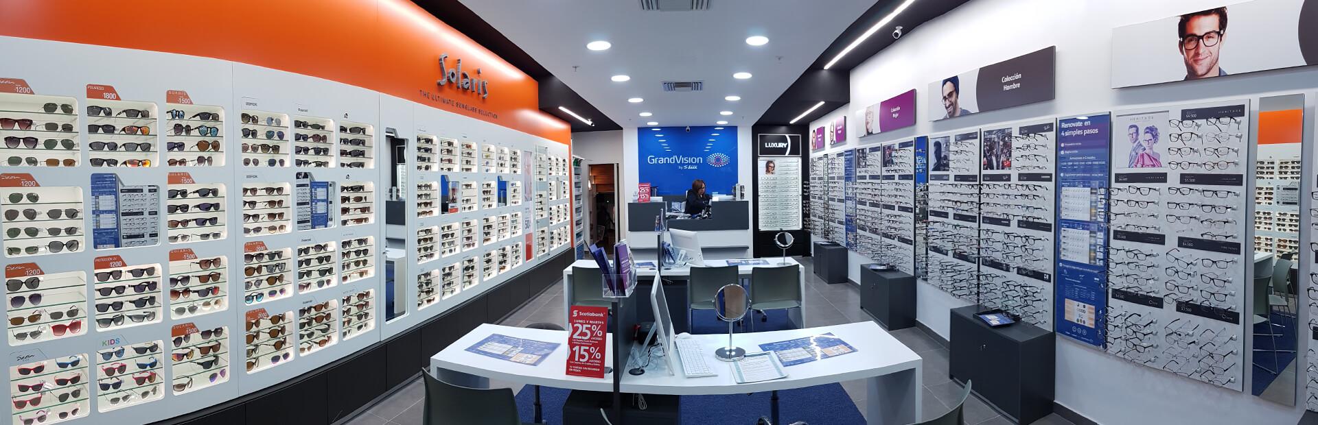 fd07ea381 Onde comprar óculos de sol em Montevidéu  Grand Vision by Óptica Lux