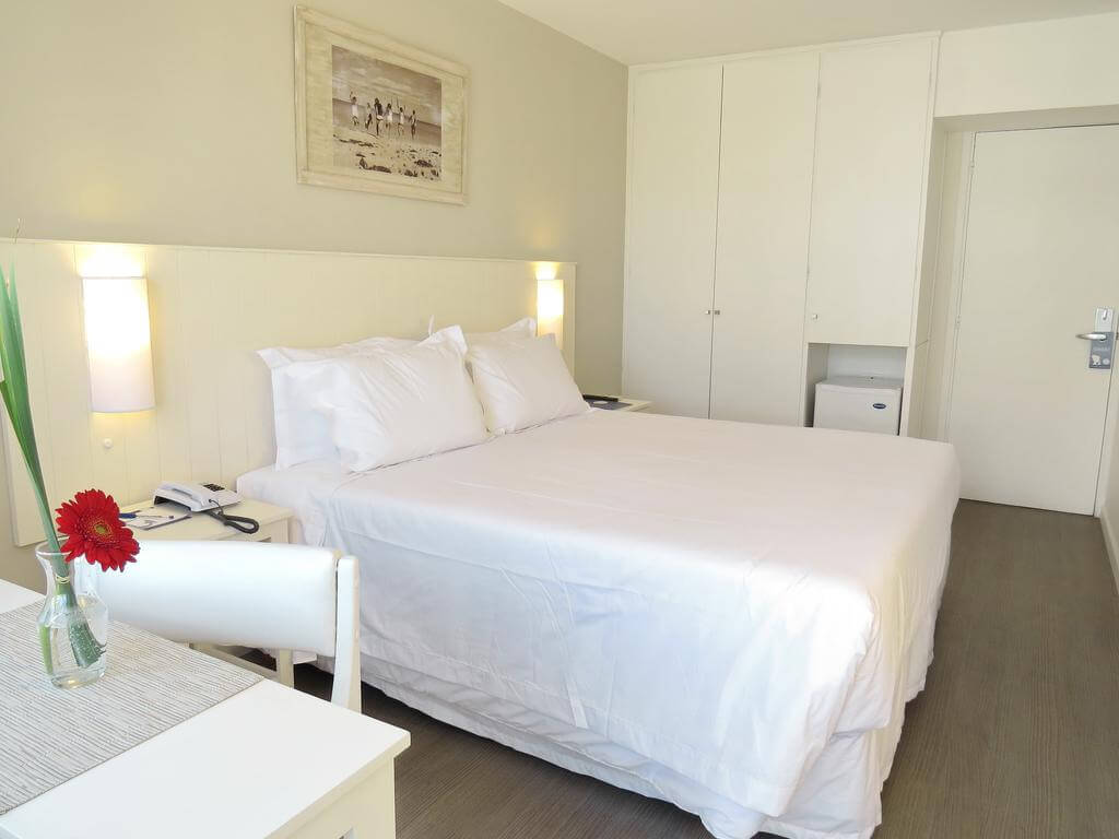 Hotéis no centro turístico de Punta del Este: Hotel Atlantico - quarto