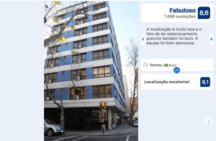 Hotéis no centro turístico de Montevidéu: Hotel Klee