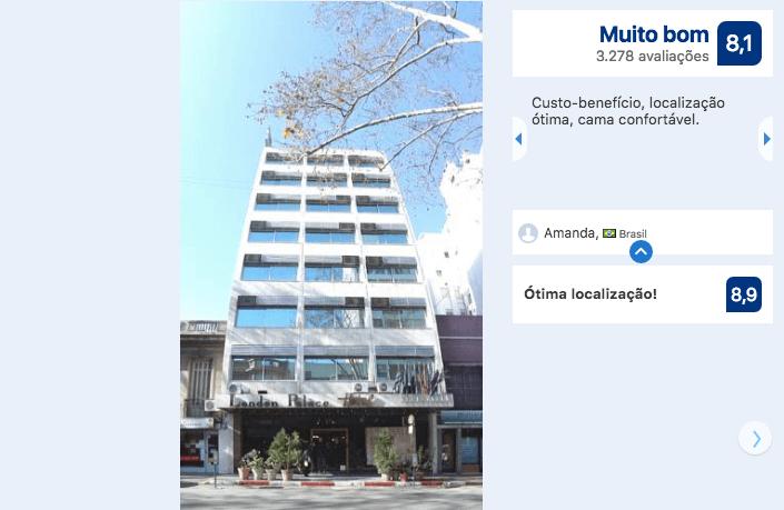 Hotéis bons e baratos em Montevidéu: Hotel London Palace