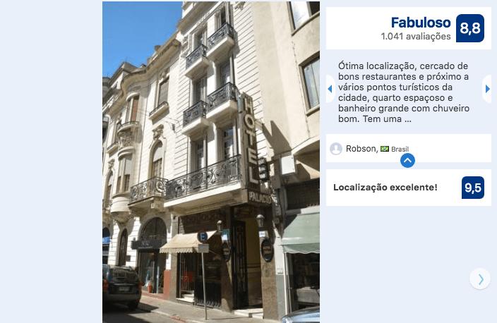 Hotéis bons e baratos em Montevidéu: Hotel Palacio