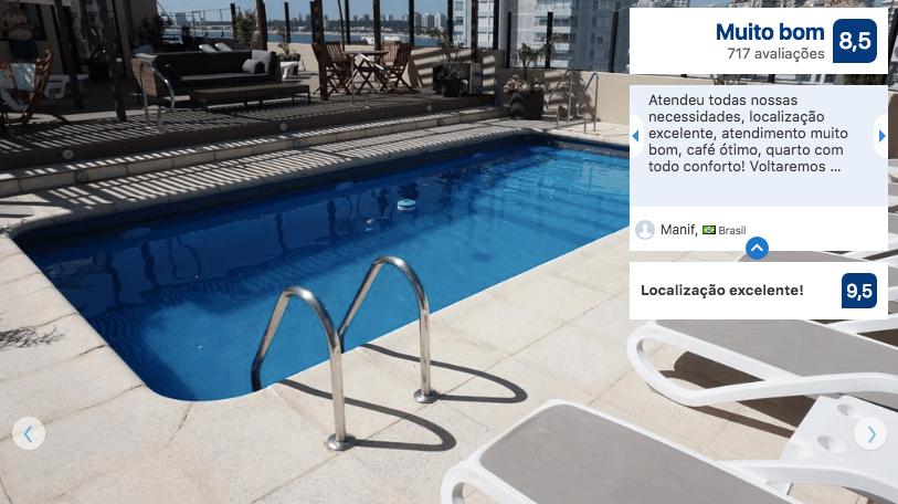 Hotéis no centro turístico de Punta del Este: Hotel Remanso