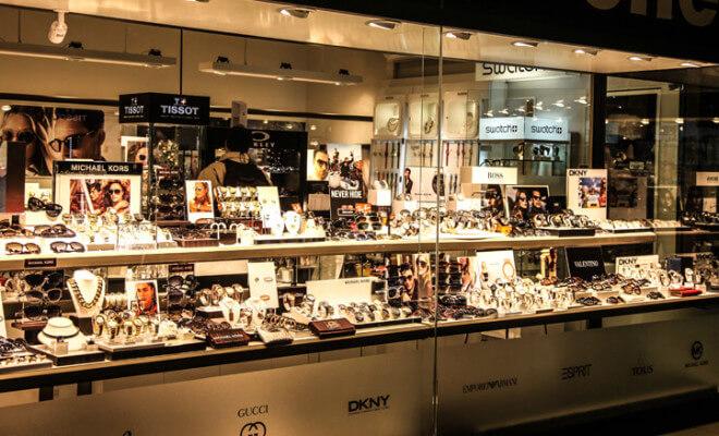 Onde comprar relógios em Punta del Este: Joyería Eclipse em Punta Shopping