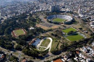 Parque Batlle em Montevidéu: estádios