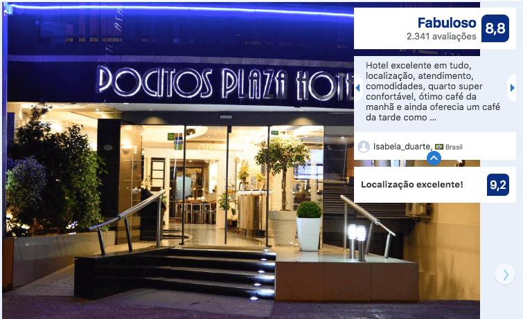 Hotéis bons e baratos em Montevidéu: Pocitos Plaza Hotel