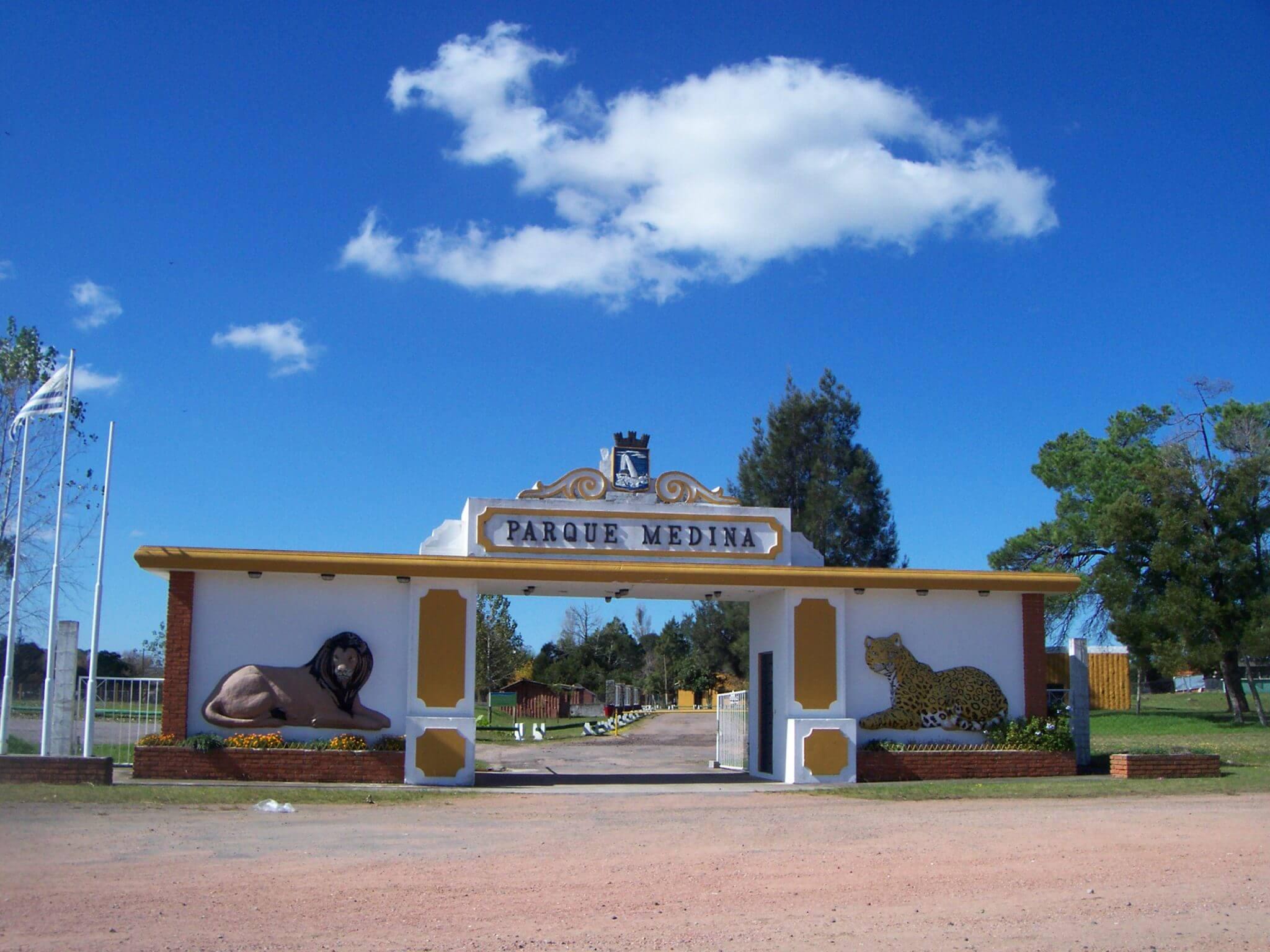 O que fazer com crianças em Punta del Este: Zoo Parque Medina em San Carlos