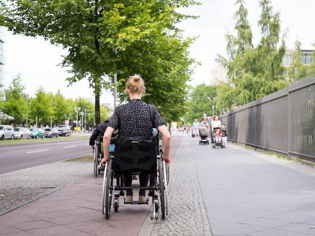 Deficientes físicos em Montevidéu