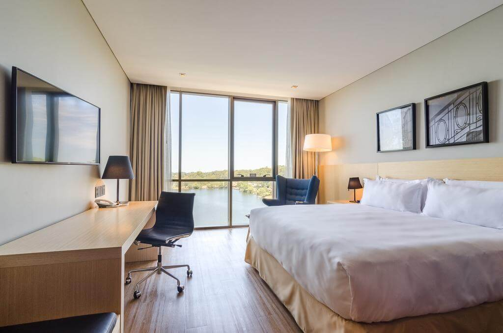 Deficientes físicos em Montevidéu: Hotel Hampton by Hilton