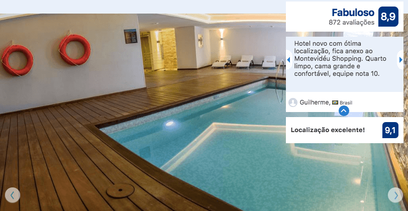 Hotéis de luxo em Montevidéu: Hotel Hilton Garden Inn