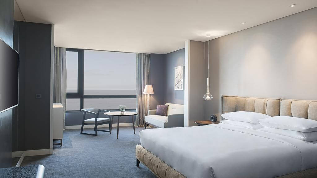 Hotéis de luxo em Montevidéu: Hotel Hyatt Centric - quarto