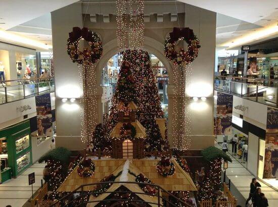 Natal em Montevidéu: Punta Carretas Shopping