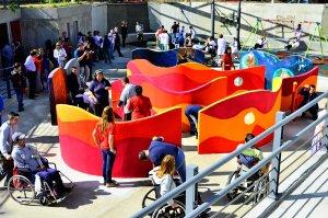 Parque de la Amistad em Montevidéu: parque inclusivo