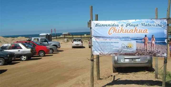 Lugares LGBT em Punta del Este: Playa Chihuahua