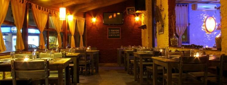Ano Novo em Montevidéu: restaurante Carbonada