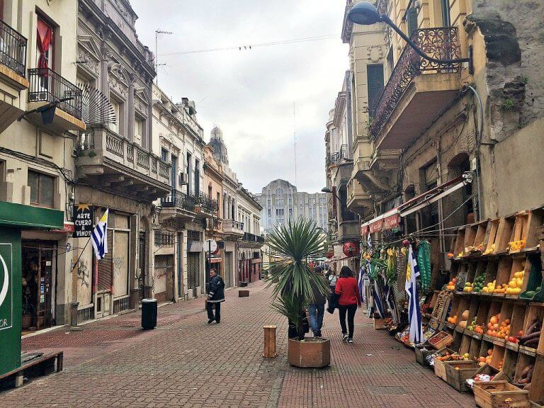 Montevidéu em setembro: Ciudad Vieja