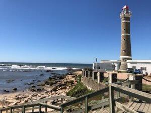 Punta del Este em outubro: Farol de José Ignacio