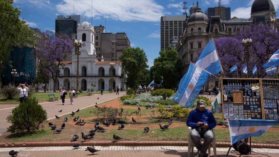 Dicas de segurança em Montevidéu: Plaza de Mayo