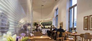 Teatro Solís em Montevidéu: cafeteria