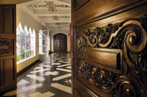 Castillo Pittamiglio em Montevidéu: interior