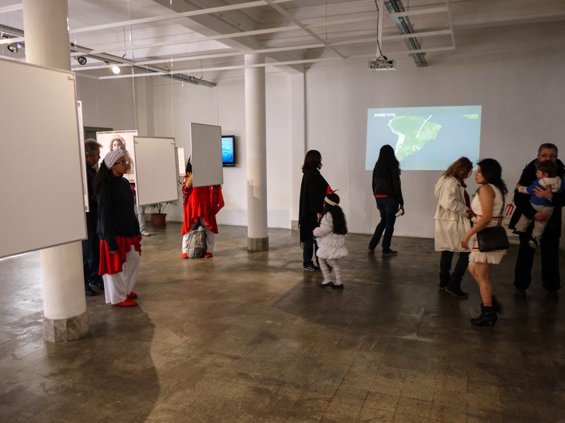 Museo de las Migraciones em Montevidéu: exposição
