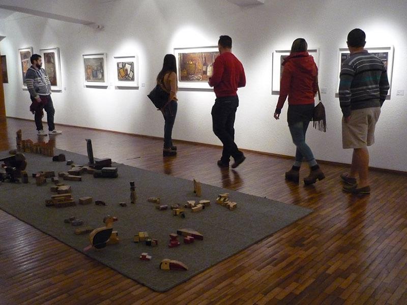 Museo Torres García em Montevidéu: exposição