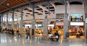 Mercado Agrícola de Montevidéu: interior