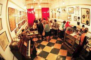 Museo del Tango em Montevidéu: interior