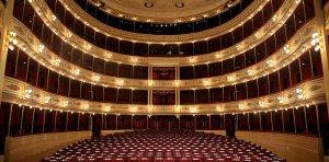 Teatro Solís em Montevidéu: interior