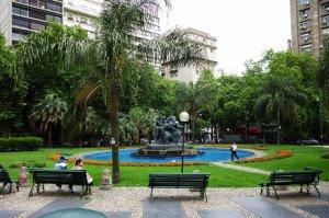 Plaza Fabini em Montevidéu: Plaza del Entrevero