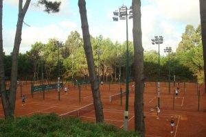 Tennis Ranch Club em Punta del Este: quadras de tênis