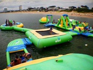Parque Aqua Splash Park em Punta del Este: brinquedos