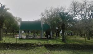 Parque Indígena em Punta del Este: churrasqueira