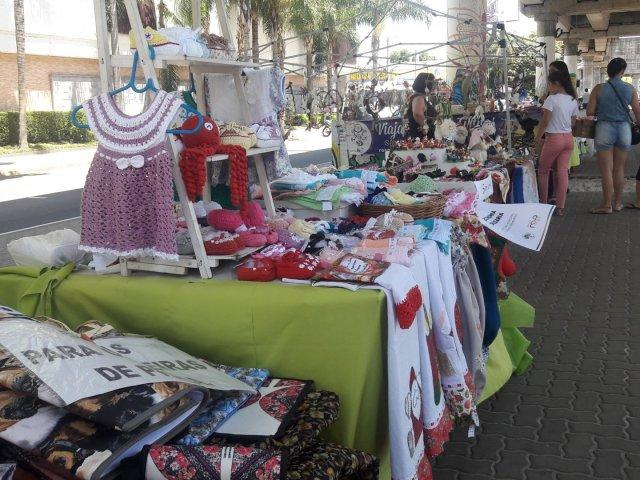 Feira da Plaza Artigas em Punta del Este