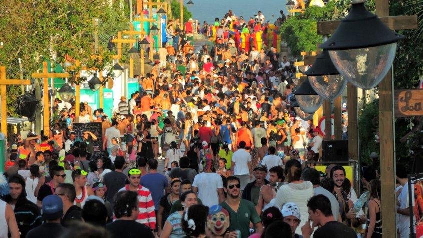 La Pedrera no Uruguai: carnaval