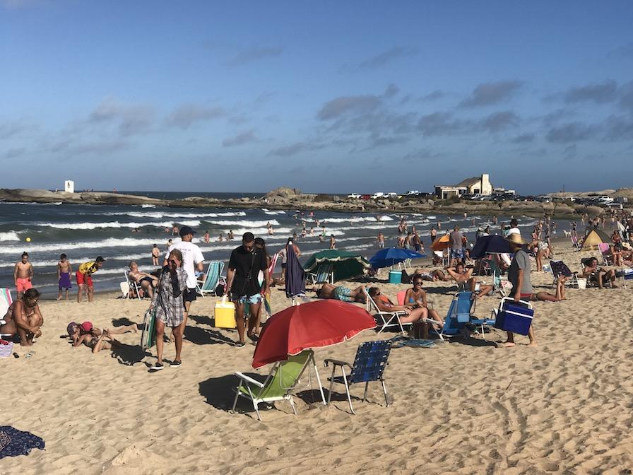 Punta del Diablo no Uruguai: praia