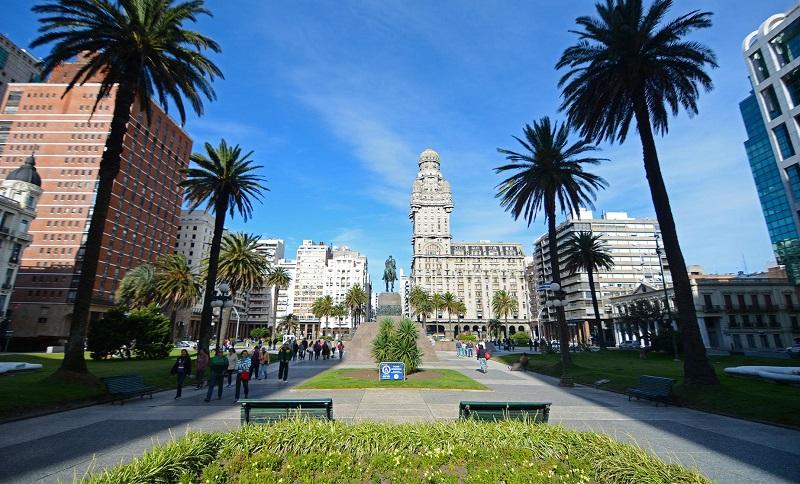 Montevidéu no Uruguai