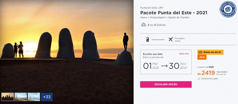 Pacote Punta del Este Hurb